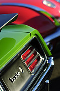 Jill Reger - 1970 Plymouth Barracuda Cuda Taillight Emblem