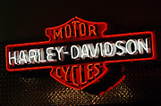 Jill Reger - Harley-Davidson Motor Cycle Neon Lights 2