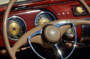 Jill Reger - 1941 Lincoln Continental Cabriolet V12 Steering Wheel
