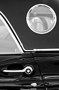 Jill Reger - 1957 Ford Thunderbird Window black and white