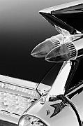 Jill Reger - 1959 Cadillac Eldorado Tail Light black and white